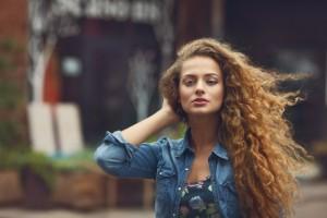 Kudrnaté vlasy